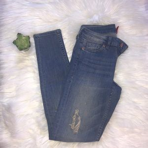 Divided Jeans Distressed Size 2